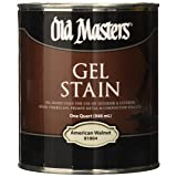 Old Masters 182305 81804 Gel Stain American Walnut Oil-Based (Color: American Walnut)