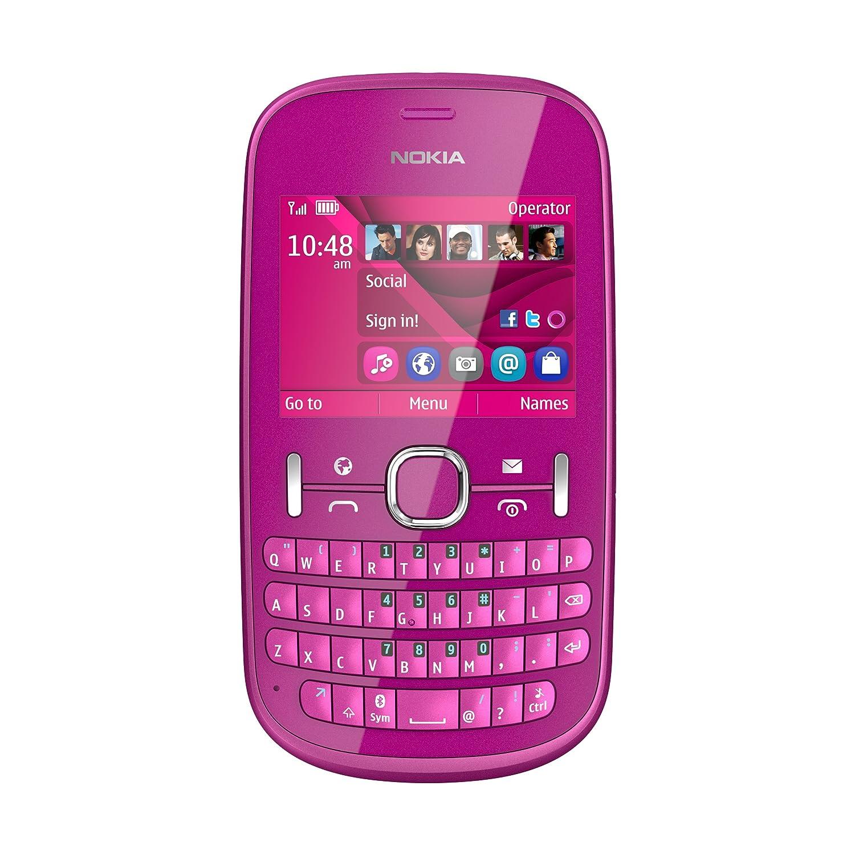 T�l�phone GSM NOKIA ASHA 201 ROSE