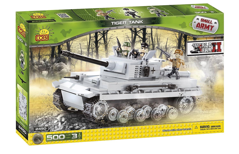 Kleine Armee / 2450 / Panzer Tiger, 500 Bausteine ??von Cobi bestellen