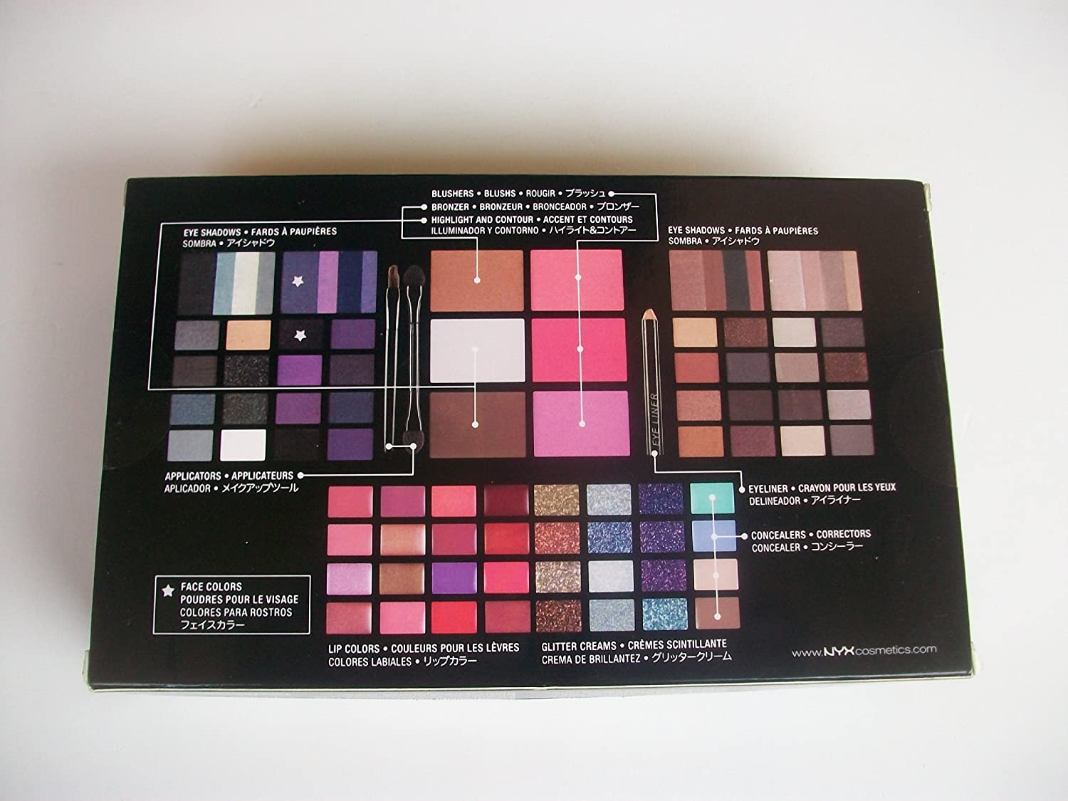 Nyx-Makeup-Set-Smokey-Look-Collection-S114