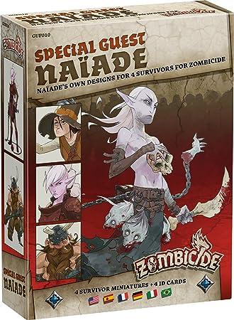 Asmodee - UBIZBP10 - Zombicide - Black Plague - Special Guest Naiade