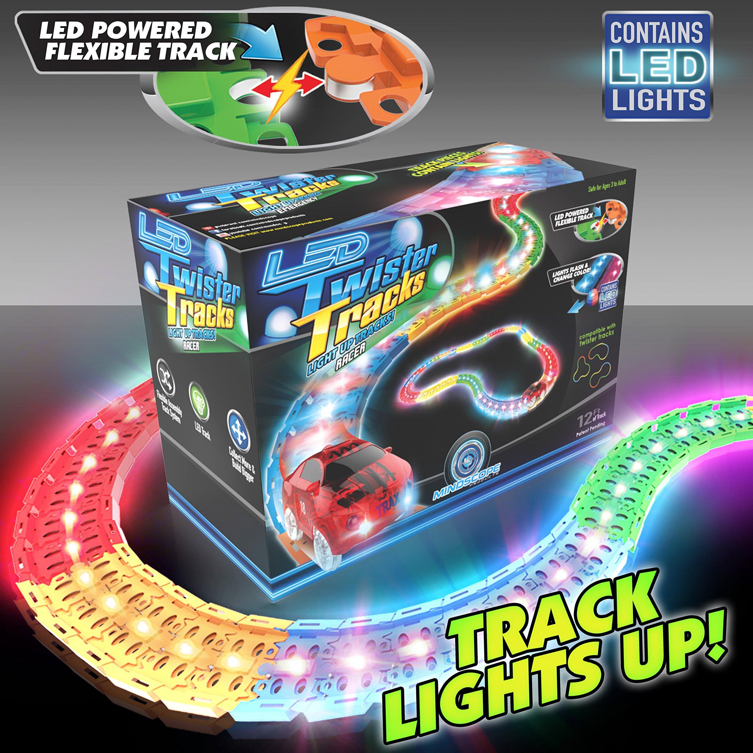 Laser Twister Tracks