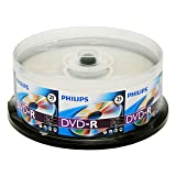 Philips DM4S6B25F/17 25 Pack 16X DVD-R Spindle