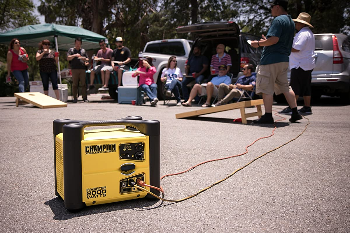 Champion 2000-Watt Stackable Portable Inverter Generator