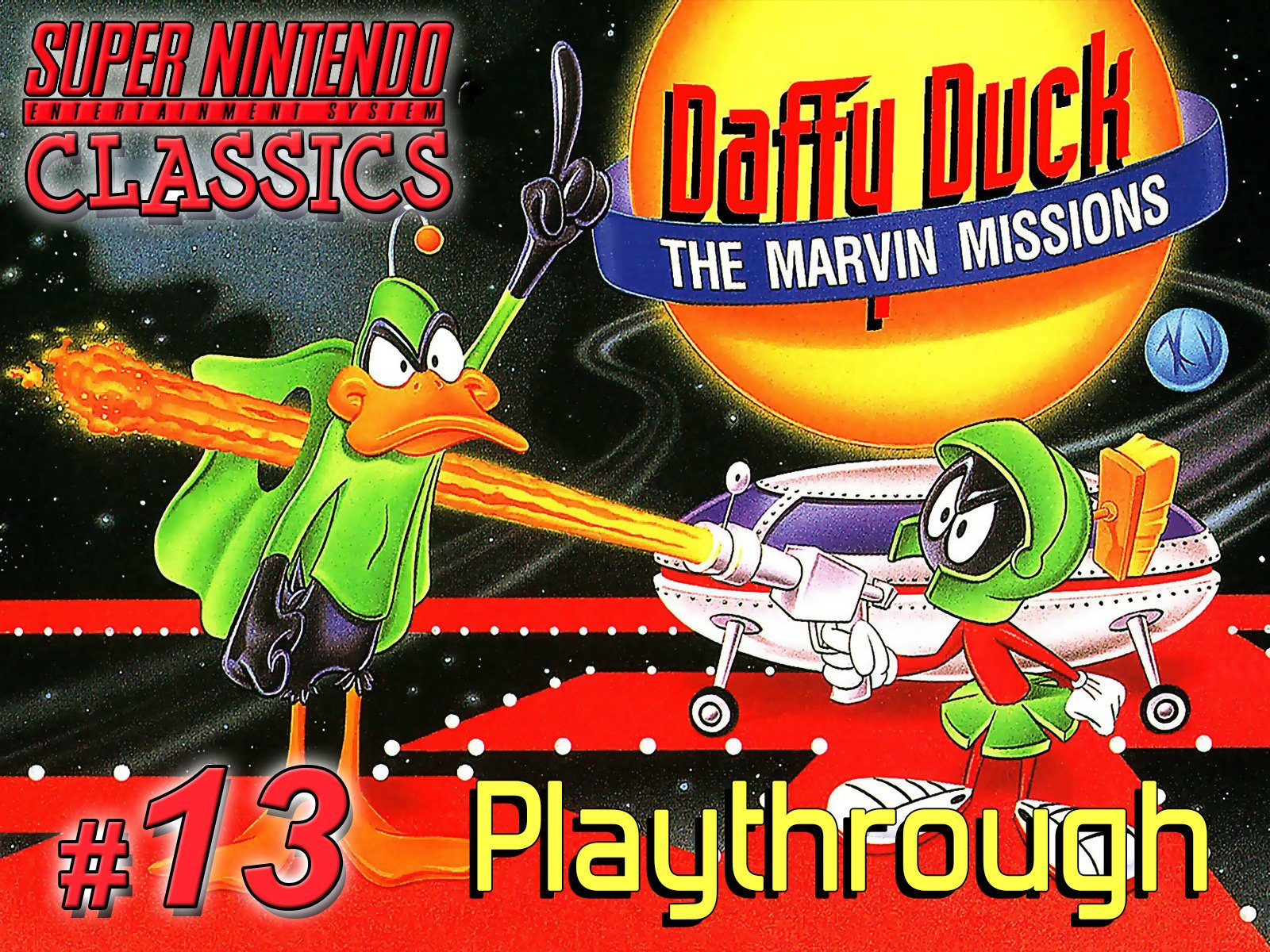 Clip: Daffy Duck: The Marvin Missions Playthrough (SNES Classics 13) on Amazon Prime Video UK