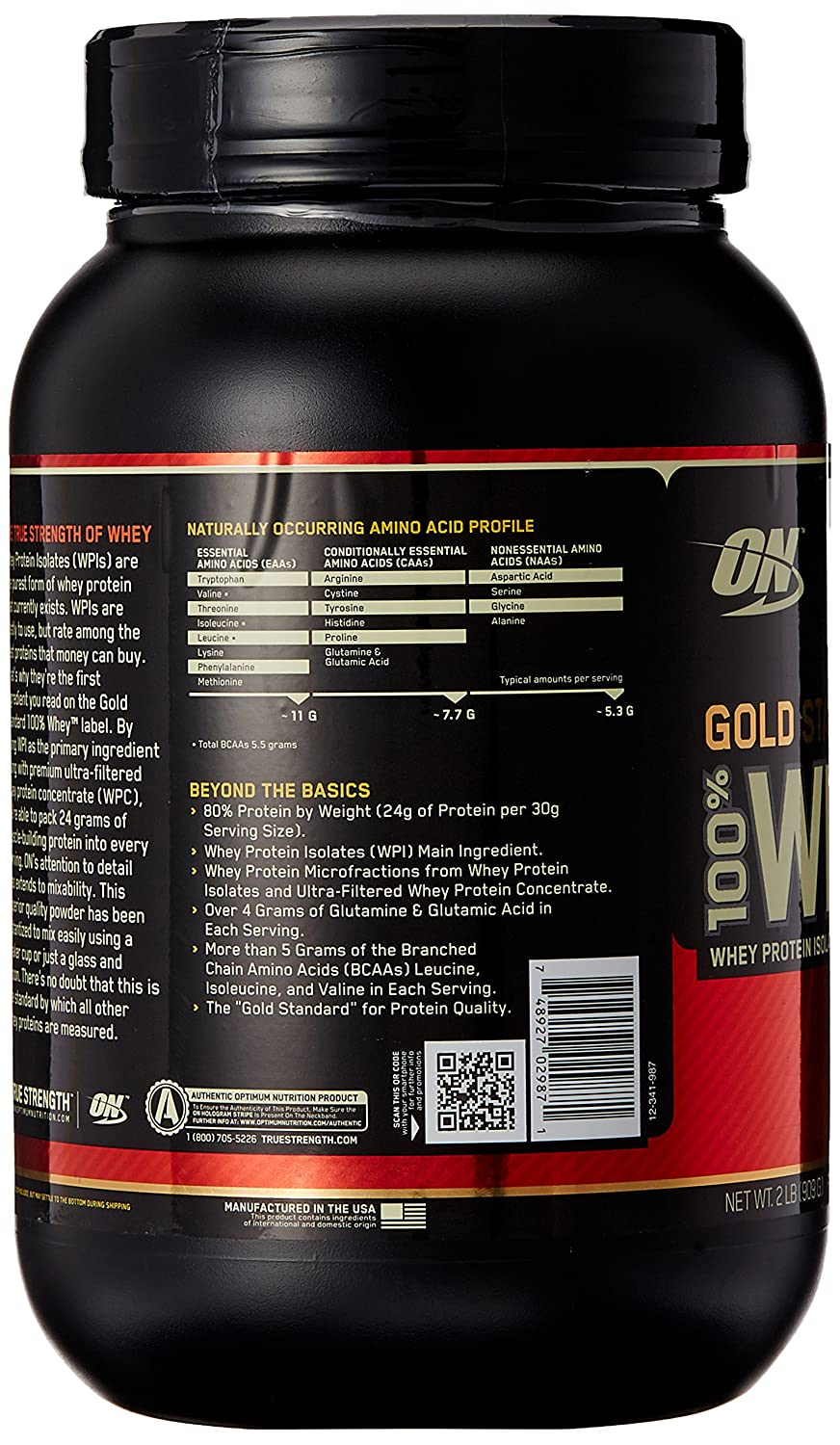 Optimum Nutrition (ON) ON Whey Gold Standard - 2 lb