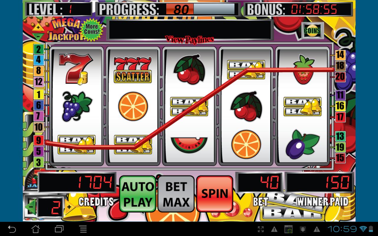 Amazon.com: Mega Jackpot Slot Machine: Appstore for Android