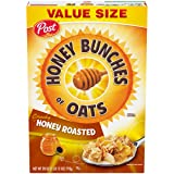 Post Honey Bunches of Oats Crunchy Honey Roasted Cereal, 28 Ounce
