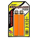 ESI Chunky MTB Grip (Orange) (Color: Orange, Tamaño: 130mm)