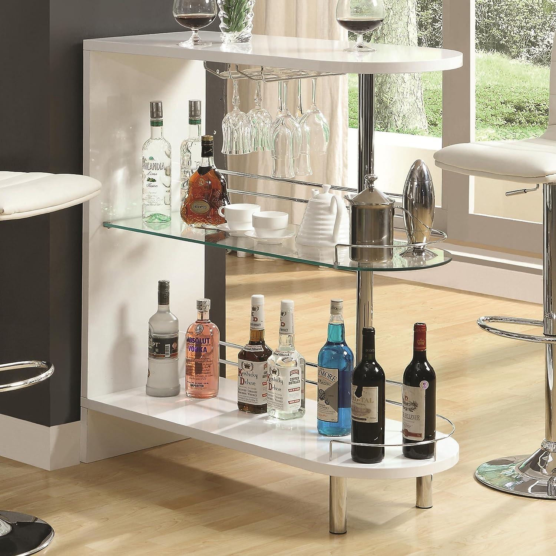 contemporary mini bar unit furniture glass drinking