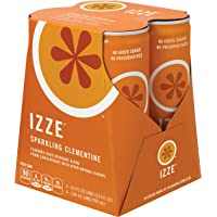 IZZE Fortified Sparkling Clementine 4 Count 8.4 Fl Oz Each Juice