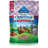 BLUE Kitchen Cravings Beef Meatball Dog Treats 6-oz