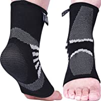 Nordic Lifting Ankle Compression Sleeves (1 Pair)