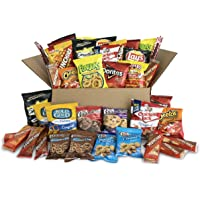 40-Pack Ultimate Snack Care Package (Chips, Cookies, Crackers & More)