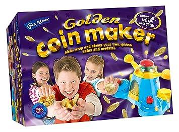 Appareil de fabrication de pièces en chocolat John Adams Golden Coin Maker (en anglais)