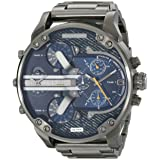 Diesel Men's DZ7331 Mr Daddy 2.0 Gunmetal-Tone Stainless Steel Watch (Color: Gunmetal)