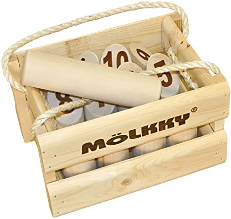 Mölkky - Jeu de Plein Air - Mölkky version luxe