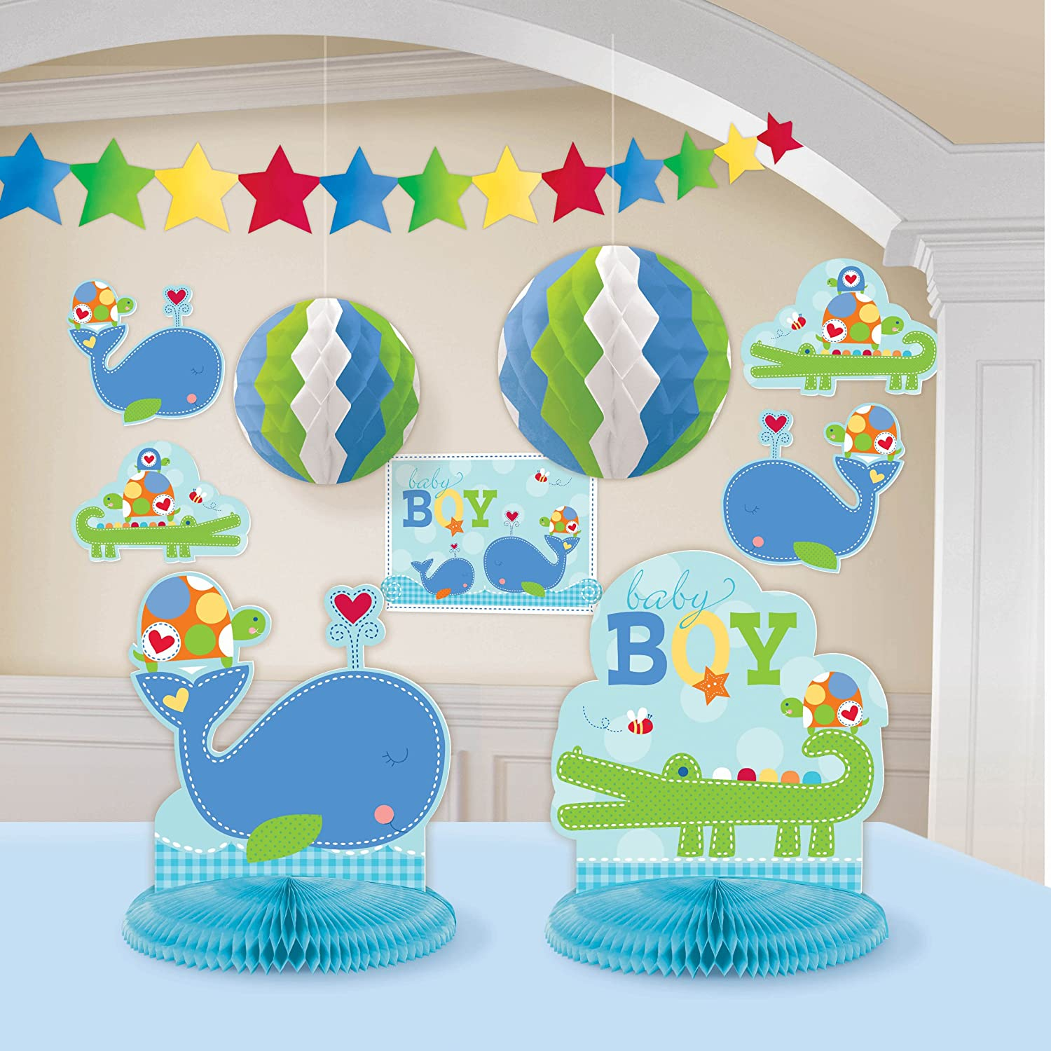 ahoy baby boy baby shower party decorations baby shower mania