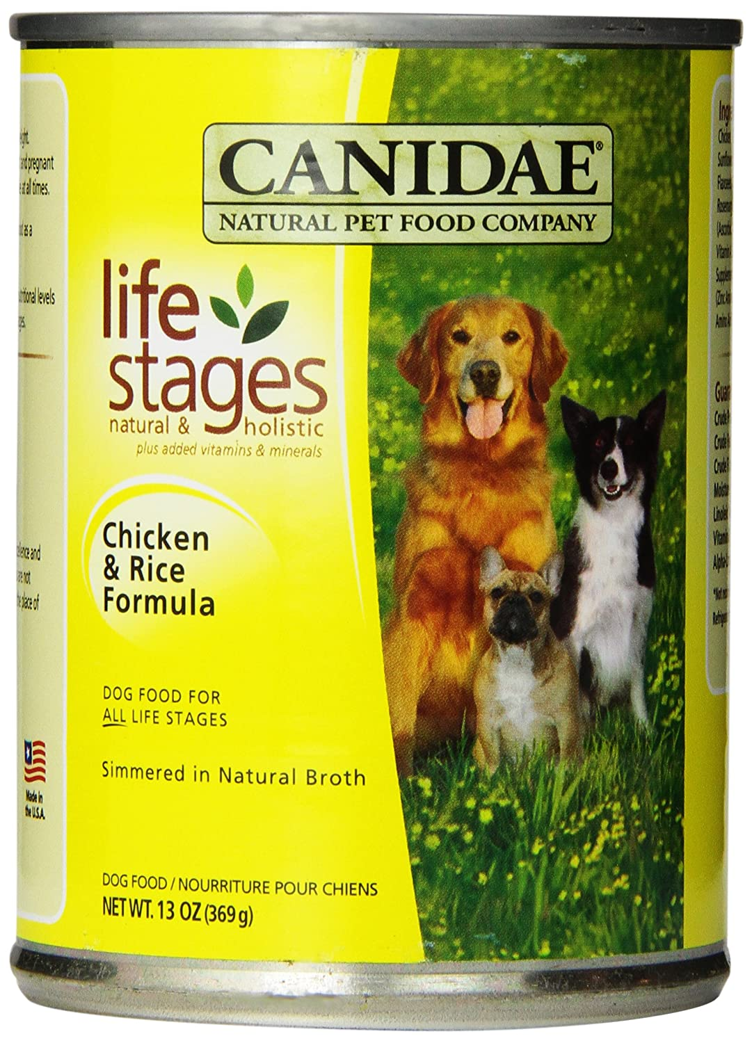 Canidae Chicken And Rice Canned Dog Food