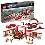 LEGO Speed Champions Ferrari Ultimate Garage 75889 Building Kit (841 Piece) (Color: Multicolor)