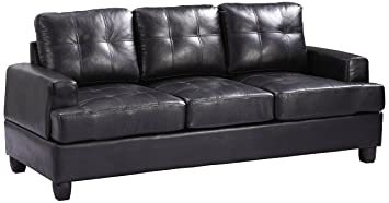 Glory Furniture G583A-S Living Room Sofa, Black