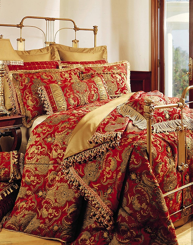 """Sherry Kline China Art Red 6-piece California King Comforter Set"""