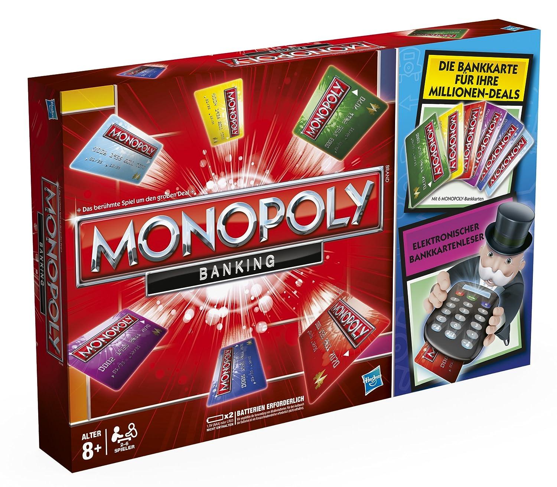 Hasbro 37712100 - Monopoly Banking - deutsche
