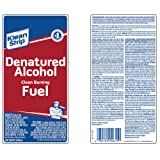 Klean-Strip QSL26 Denatured Alcohol, 1-Quart