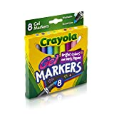 Crayola 8 Count Gel FX Washable Markers (Color: Multi Colored)