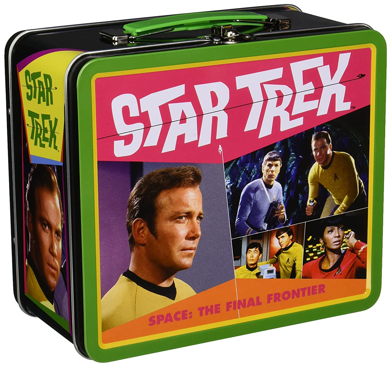 Aquarius Star Trek Retro Large Tin Fun Box 0