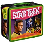 Aquarius Star Trek Retro Large Tin Fun Box