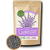 Lavender Flowers | 4 oz Reseable Bag,Bulk | Dried Culinary Lavender Buds, Herbal Tea | Relaxing,Sleep Well | Aromatherapy, Crafts Potpourri,Home Fragrance by Eat Well Premium Foods (Tamaño: 4 Ounce)