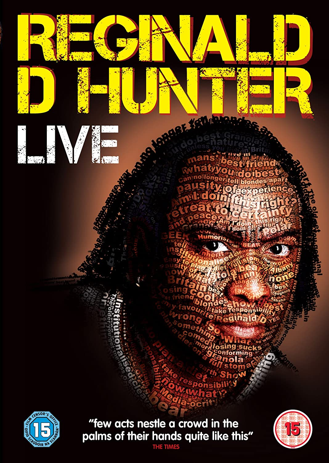 Reginald D. Hunter Live Cover