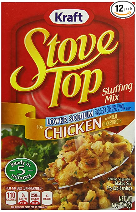 Stove Top Stove Top Stuffing Mix