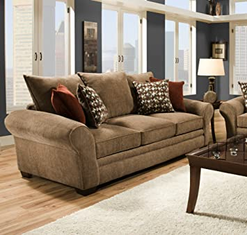 Chelsea Home Furniture Iris Sofa, Resort Harvest