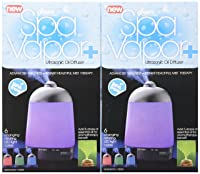 Greenair Spa Vapor + Advanced Wellness Instant Healthful Mist Therapy (Pack of 2)