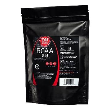 Deluxe BCAA 2:1:1 500g Powder 100 Servings / Deluxe Nutrition BCAA 2:1:1 verzweigtkettigen Aminosäuren Pulver 500g 100 Servings