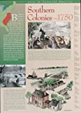 Southern Colonies Wall Poster