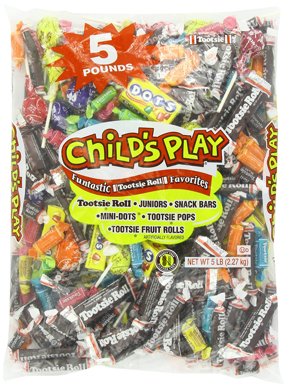 Tootsie Child's Play Candy, 5 Pound