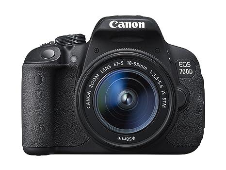 Canon 700D + EF-S 18-55mm IS STM Appareil Photo Numérique Compact 18 Mpix Noir