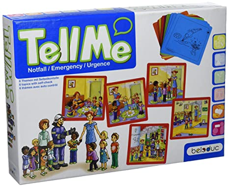 Beleduc - 11080 - Jeu De Cartes - Tell Me! - Emergency