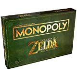 Monopoly Legend of Zelda Collectors Edition Board Game Ages 8 & Up (Amazon Exclusive) (Color: Brown)