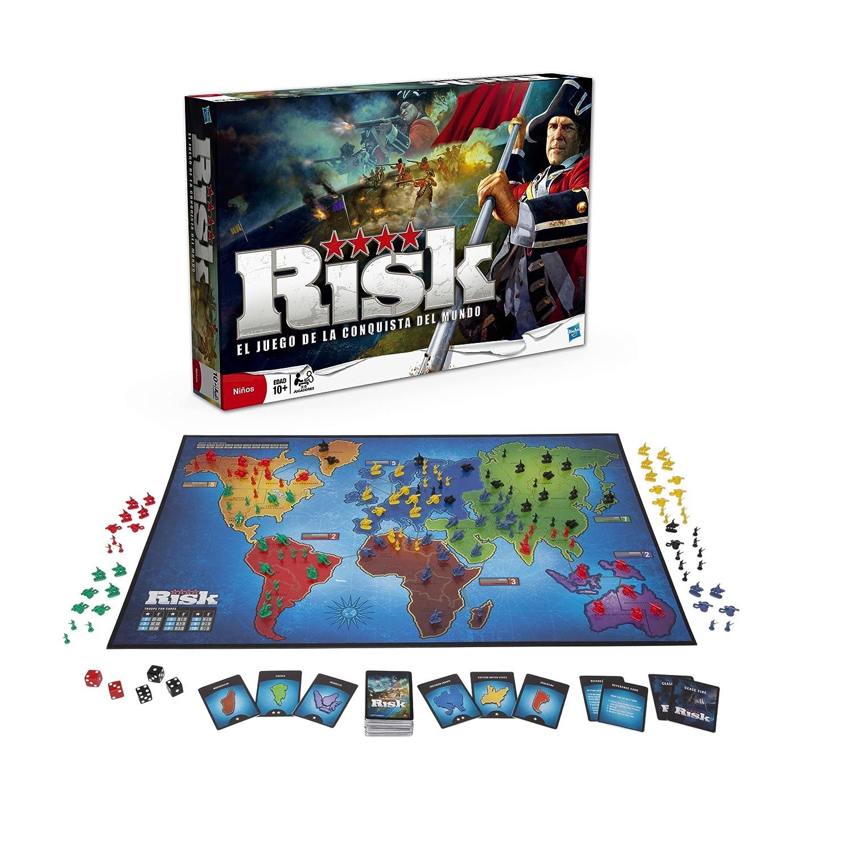 El clásico juego de mesa Risk