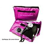 EMI PINK Deluxe Aneroid Sphygmomanometer Blood Pressure Monitor #217