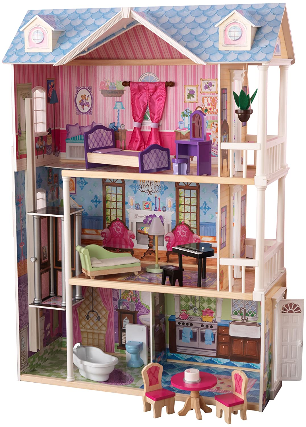 3 Bedroom Floor Plans Best Dollhouses For Little Girls Trying Out Toys