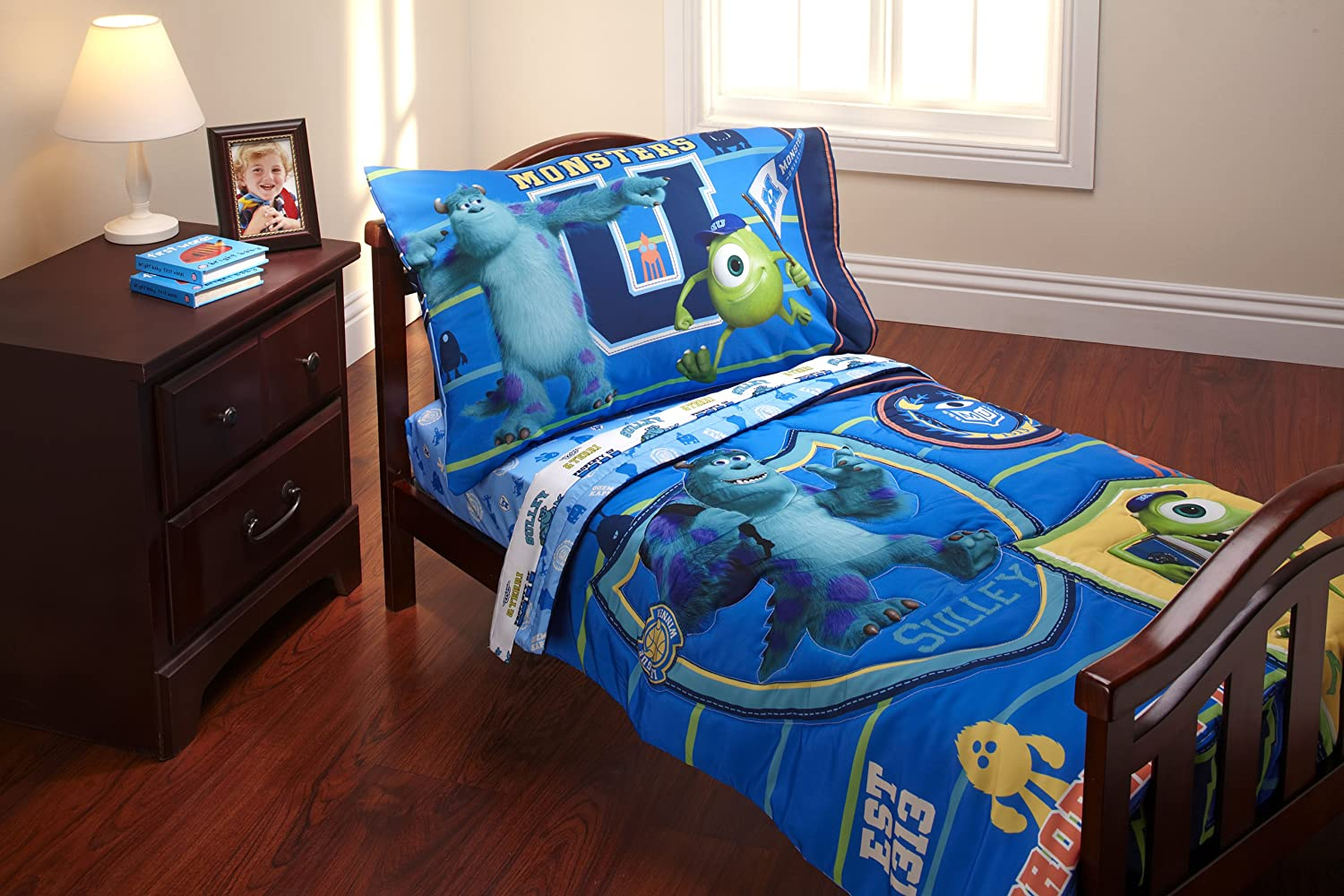 Disney 4 Piece Toddler Set Disney 4 Piece Toddler SetBuy It! Monsters Inc  Bedroom Decor. Search For: