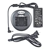 CD-58 Power Adapter Rapid Li-ion Battery Charger for Vertex VX260 VX261 VX264 VX451 VX454 VX459 VX531 VX534 VX231 VX230 VX450 VX539 FNB-V130L FNB-V133L FNB-V127 FNB-V128 FNB-V131 FNB-134 Radio