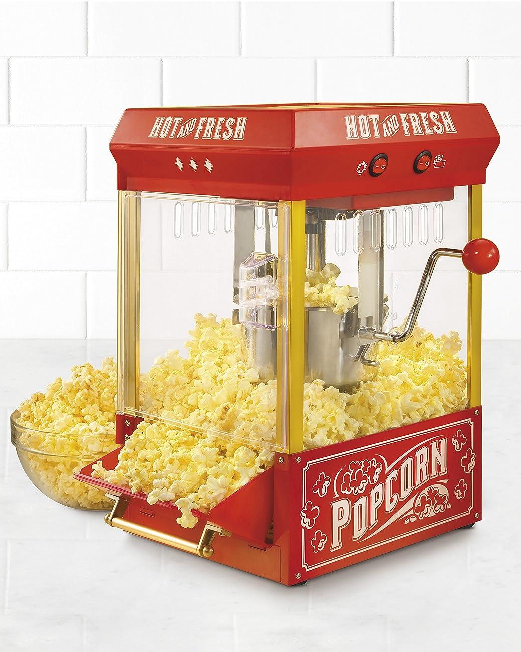 Nostalgia KPM200 Vintage Collection 2.5-Ounce Kettle Popcorn Popper 1