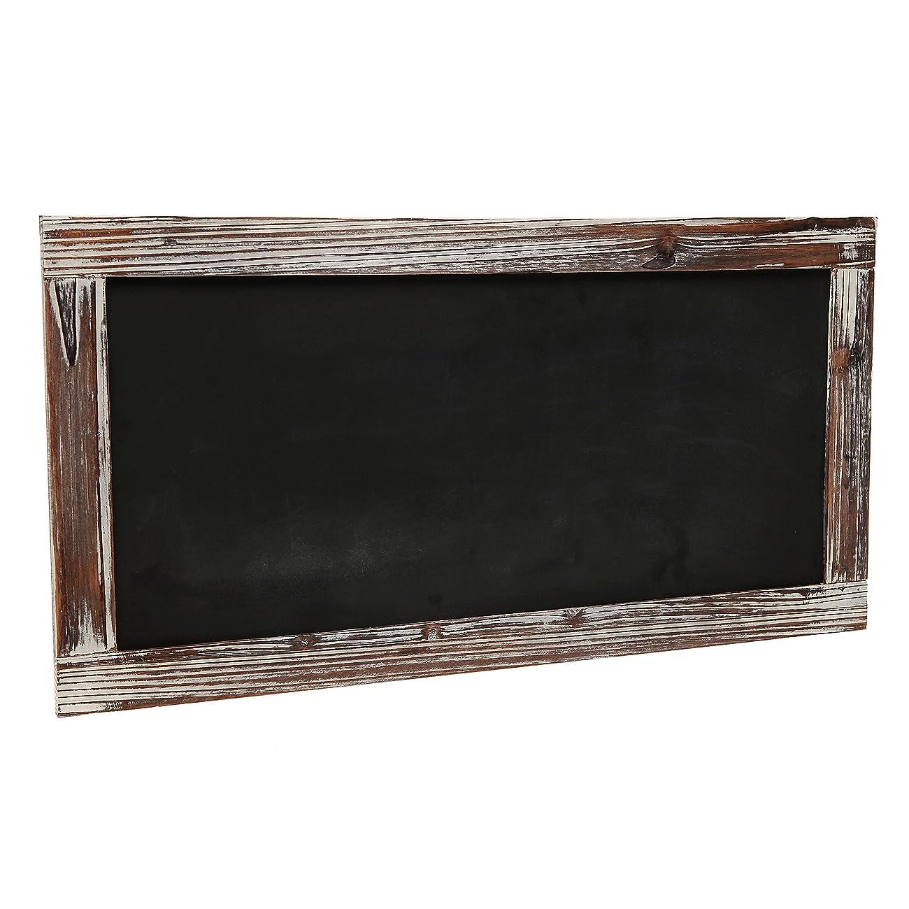Rustic Style Wood Framed Erasable Blackboard / Chalk Message Memo Board / Restaurant Store Sign - MyGift® 1