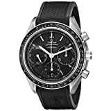 Omega Men's 32632405001001 Speed Master Analog Display Automatic Self Wind Black Watch (Color: Black)